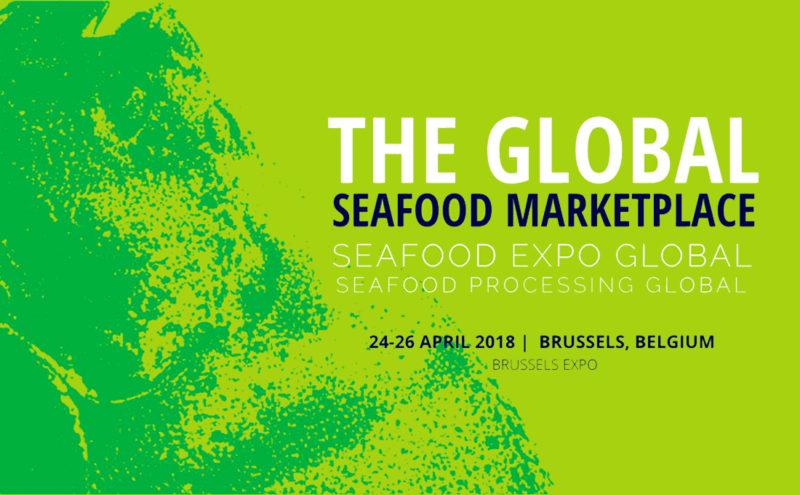 Global Seafood Expo de Bruselas
